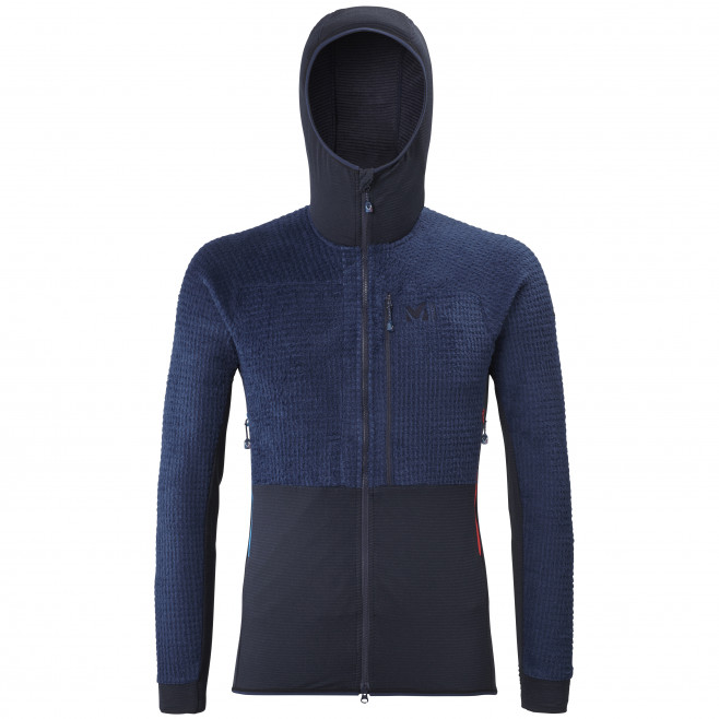 Men's fleecejacket - navy-blue TRILOGY EDGE ALPHA HOODIE M Millet