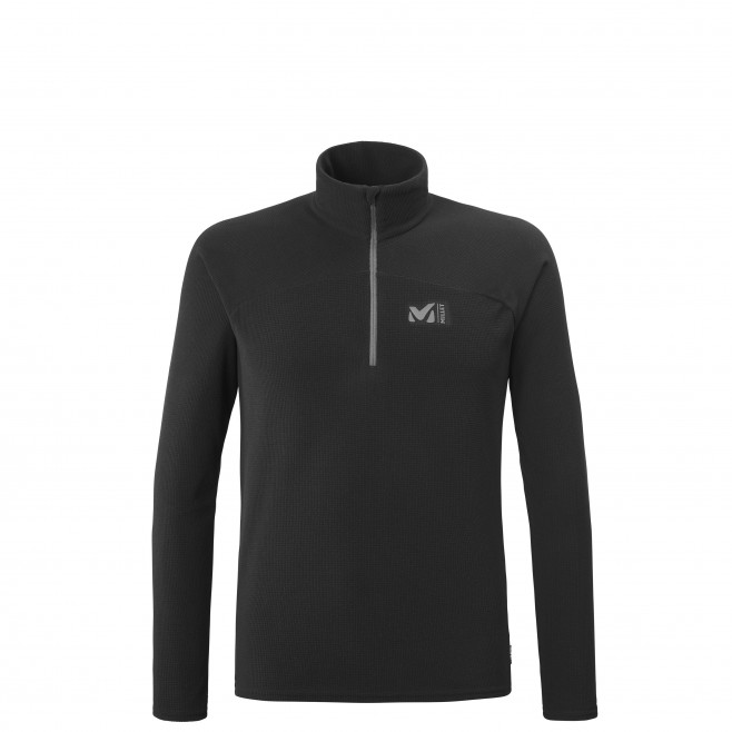 Men's very warm fleecejacket - black K LIGHTGRID PO M Millet
