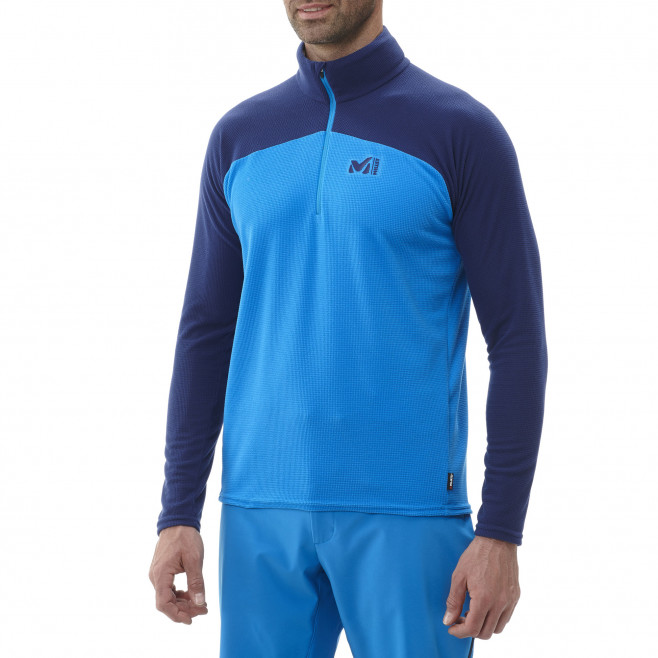 Men's very warm fleecejacket - blue K LIGHTGRID PO M Millet 2