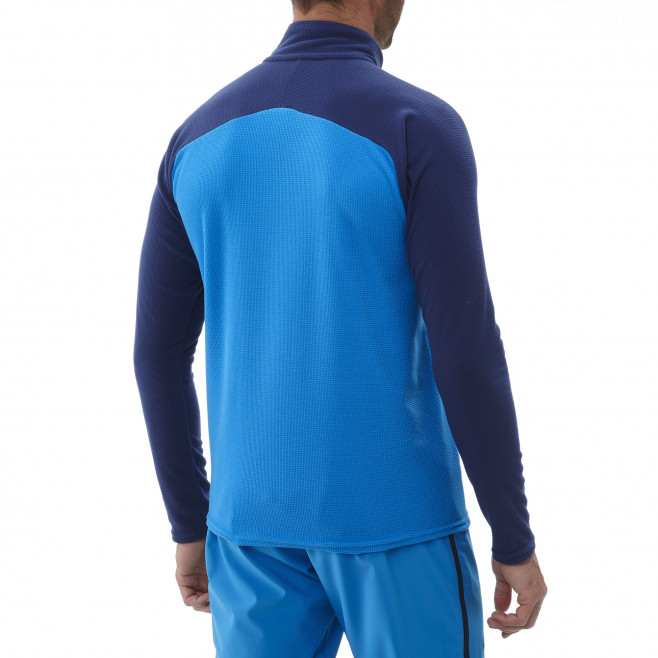 Men's very warm fleecejacket - blue K LIGHTGRID PO M Millet 3