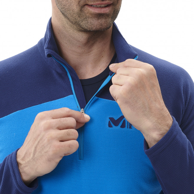 Men's very warm fleecejacket - blue K LIGHTGRID PO M Millet 4