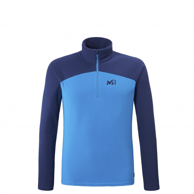 Men's very warm fleecejacket - blue K LIGHTGRID PO M Millet