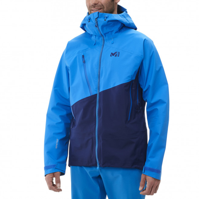 Men's gore-tex jacket - blue ELEVATION S GTX JKT M Millet 3