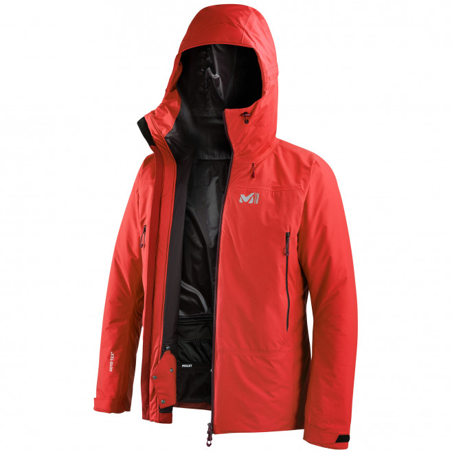 Men's gore-tex jacket - red FUSION GTX INFINIUM JKT M Millet 2