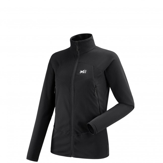 Women's lightweight fleecejacket - black K LIGHTGRID JKT W Millet