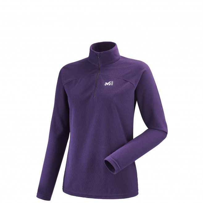Women's very warm fleecejacket - purple K LIGHTGRID PO W Millet