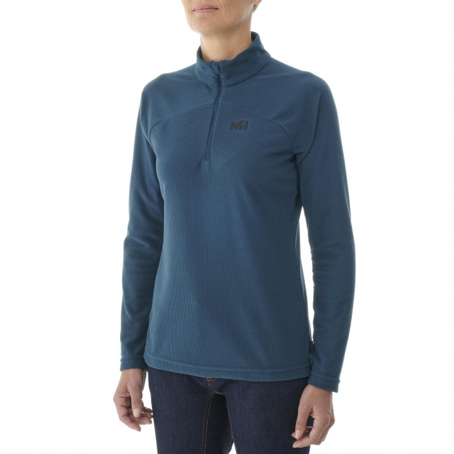 Women's fleecejacket - navy-blue K LIGHTGRID PO W Millet 2
