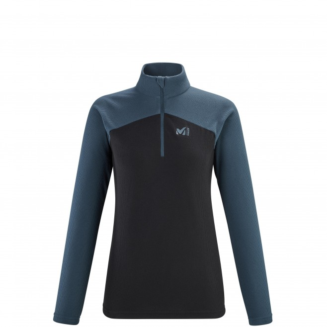 Women's fleecejacket - navy-blue K LIGHTGRID PO W Millet