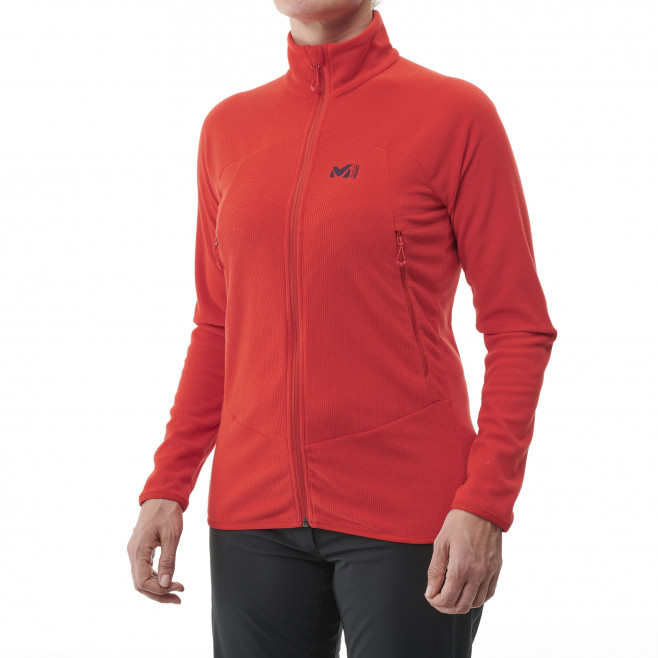 Women's very warm fleecejacket - grey K LIGHTGRID PO W Millet 3