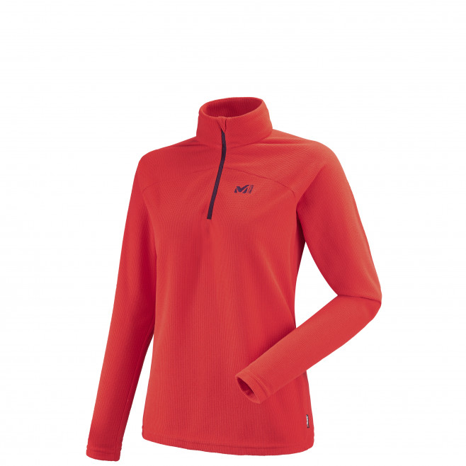 Women's very warm fleecejacket - red K LIGHTGRID PO W Millet