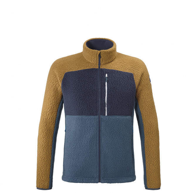 Men's very warm fleecejacket - blue 8 SEVEN FLEECESHEEP JKT M Millet
