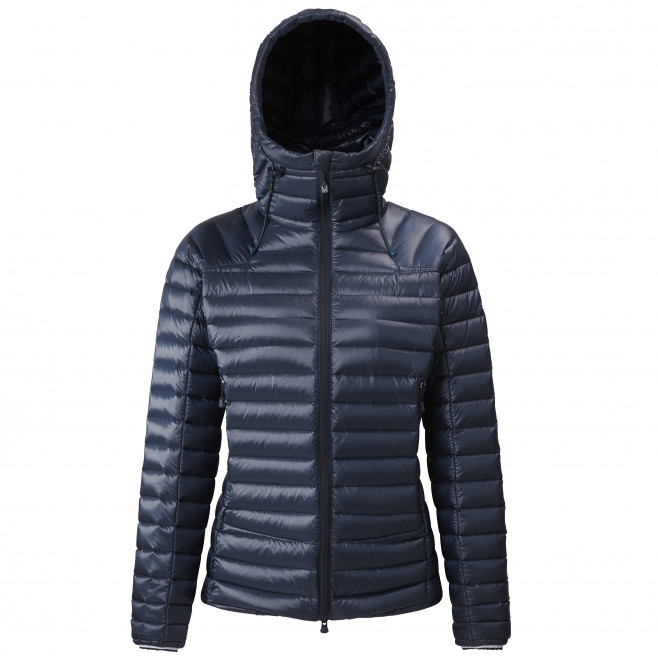 Women's downjacket - navy-blue TRILOGY SYNTH'X DOWN HOODIE W Millet