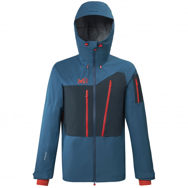 Men's gore-tex jacket - blue M WHITE GTX  JKT M Millet
