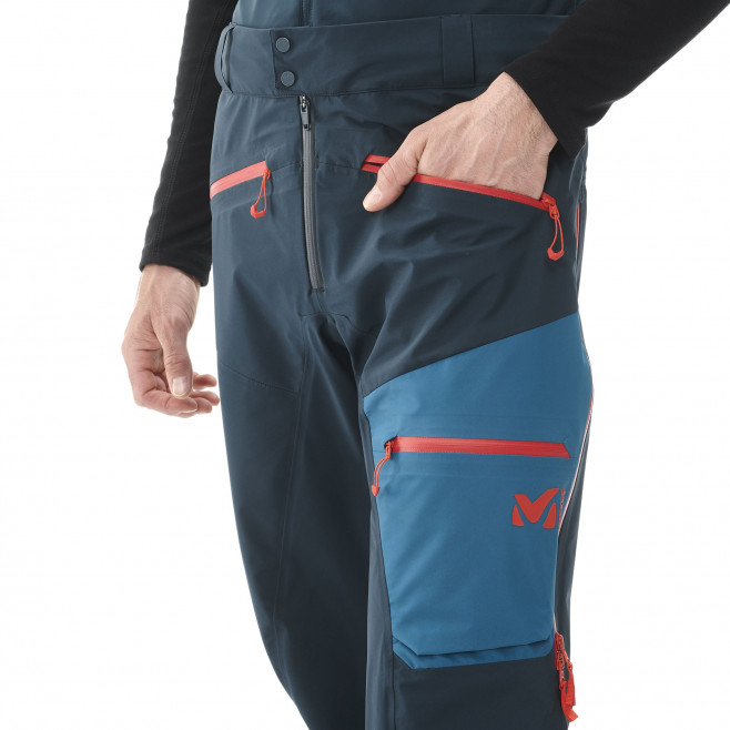 Men's gore-tex pant - navy-blue M WHITE GTX PT M Millet 7