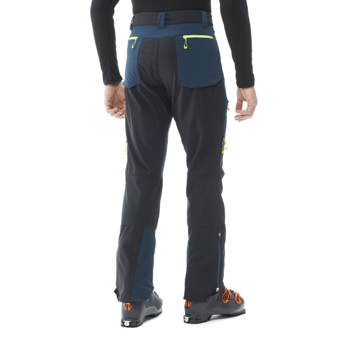 Men's softshell pant - black TOURING SHIELD EXTREME PT M Millet 3