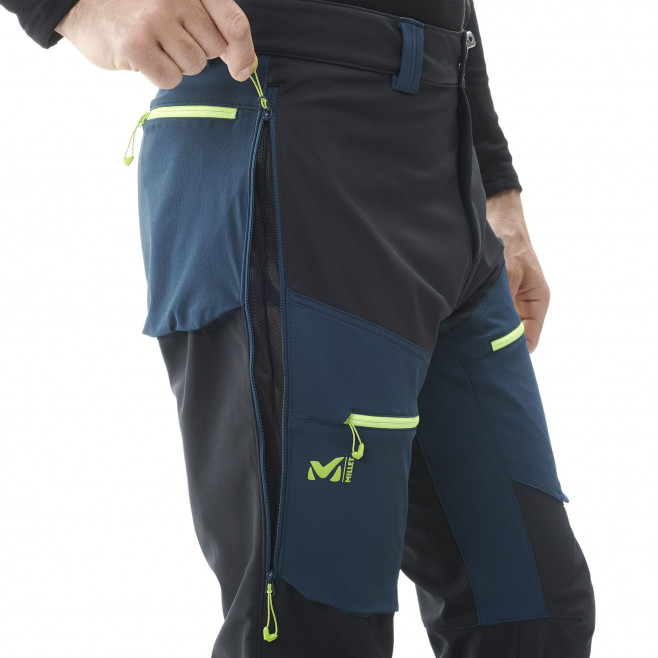 Men's softshell pant - black TOURING SHIELD EXTREME PT M Millet 6