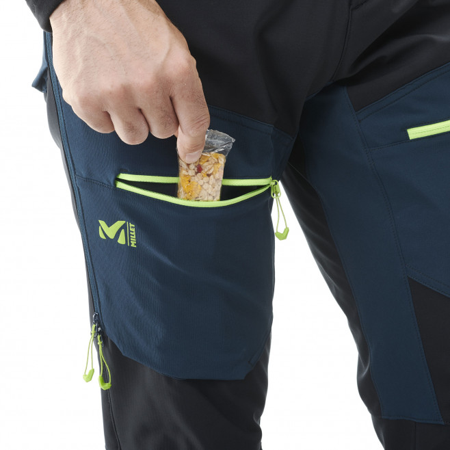Men's softshell pant - black TOURING SHIELD EXTREME PT M Millet 7