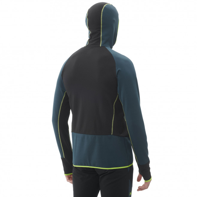 Men's lightweight fleecejacket - blue RUTOR THERMAL HOODIE M  Millet 5