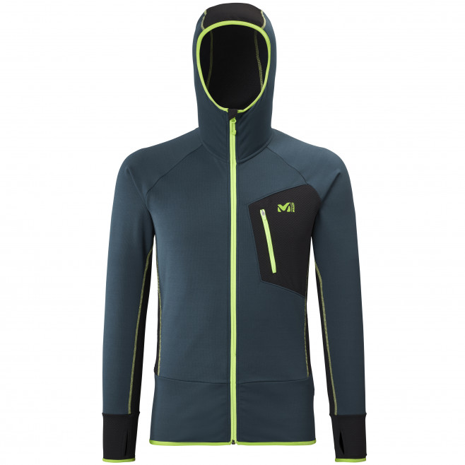 Men's lightweight fleecejacket - navy-blue RUTOR THERMAL HOODIE M  Millet