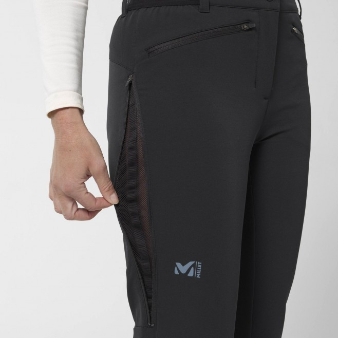Women's wind resistant pant - red EXTREME RUTOR PANT W Millet 6