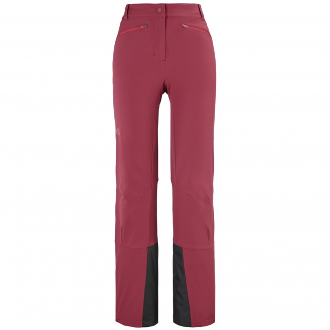 Women's wind resistant pant - red EXTREME RUTOR PANT W Millet