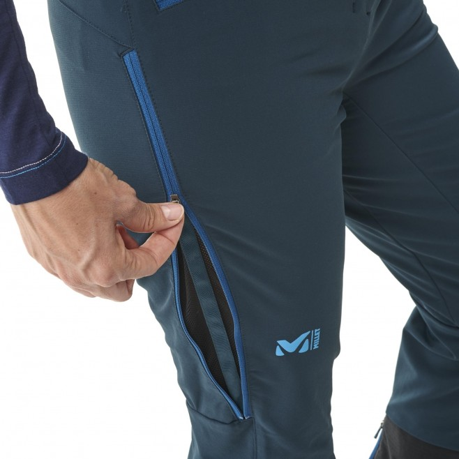 Women's wind resistant pant - navy-blue EXTREME RUTOR SHIELD PT W Millet 4