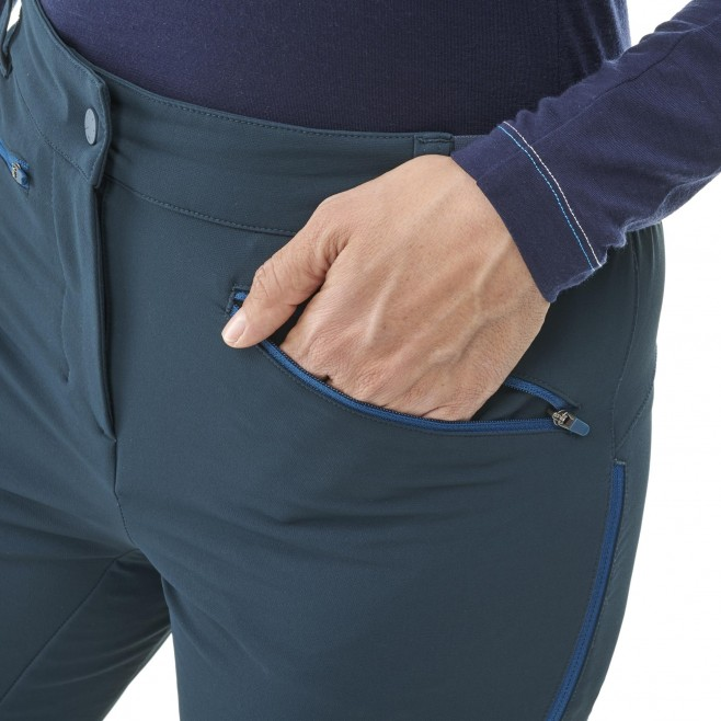 Women's wind resistant pant - navy-blue EXTREME RUTOR SHIELD PT W Millet 6