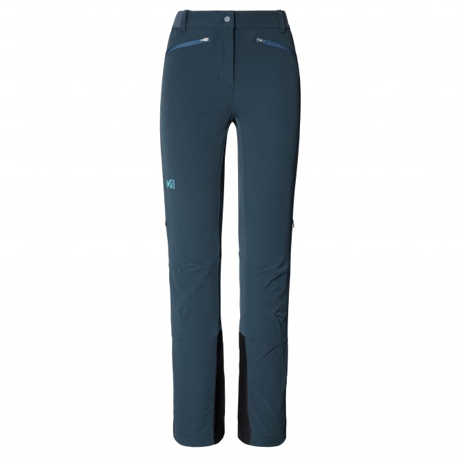 Women's wind resistant pant - navy-blue EXTREME RUTOR SHIELD PT W Millet