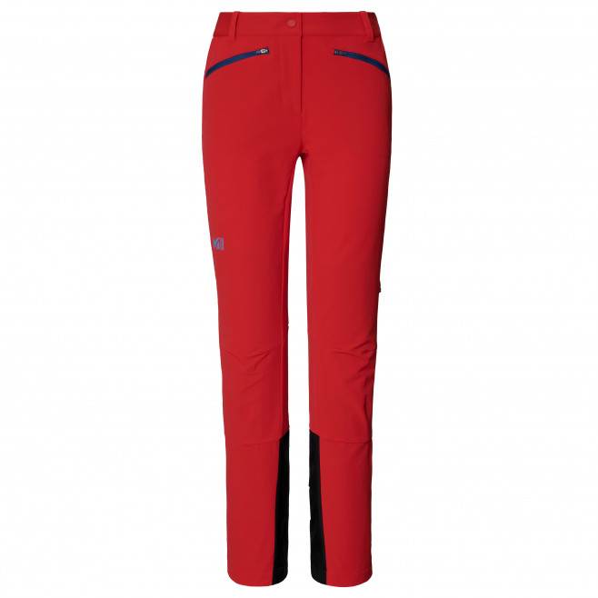 Women's softshell pant - red EXTREME RUTOR SHIELD PT W Millet