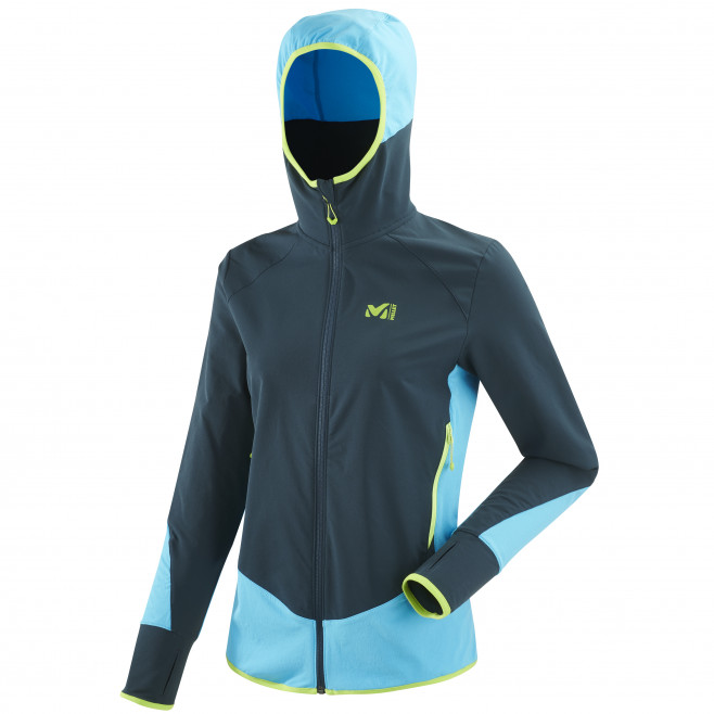 Women's softshell jacket - navy-blue EXTREME TOURING FIT JKT W Millet