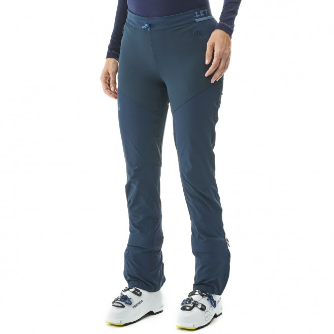 Women's softshell pant - blue EXTREME TOURING FIT PT W Millet 2