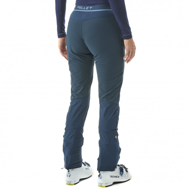 Women's softshell pant - blue EXTREME TOURING FIT PT W Millet 3