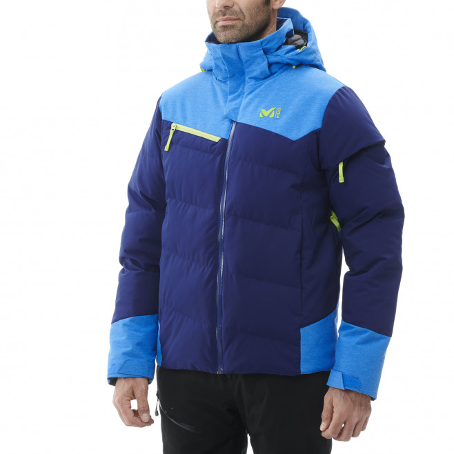 Men's waterproof jacket - navy-blue SUN PEAKS STRETCH JKT M Millet 3