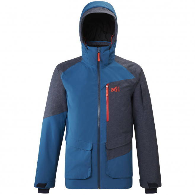 Men's waterproof jacket - blue MOUNT TOD JKT M Millet