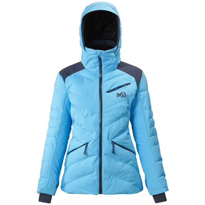 Women's waterproof jacket - blue HEIDEN STRETCH JKT W Millet
