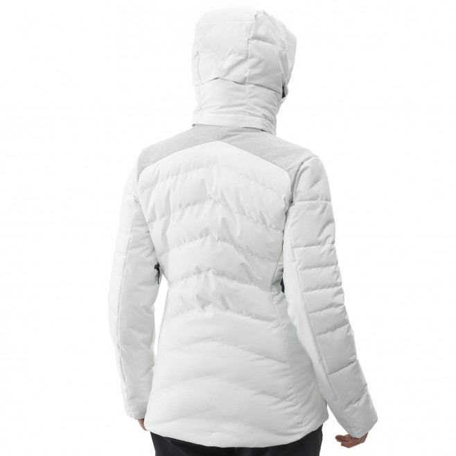 Women's waterproof jacket - white HEIDEN STRETCH JKT W Millet 3