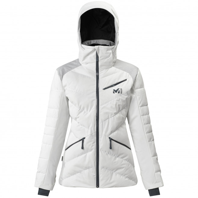 Women's waterproof jacket - white HEIDEN STRETCH JKT W Millet