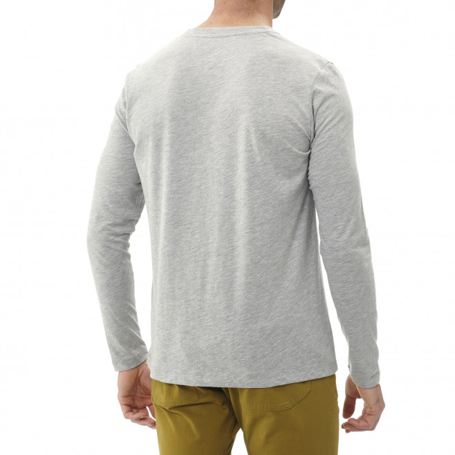 Men's long sleeves tee-shirt - grey BOULDER DREAM TS LS M Millet 3