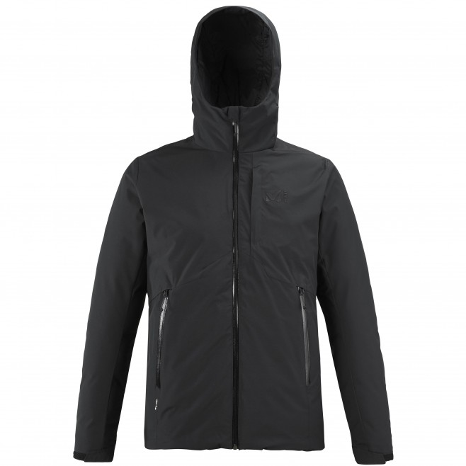 Men's waterproof jacket - black HEKLA INS JKT M Millet