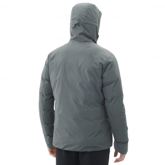 Men's waterproof jacket - black HEKLA INS JKT M Millet 5