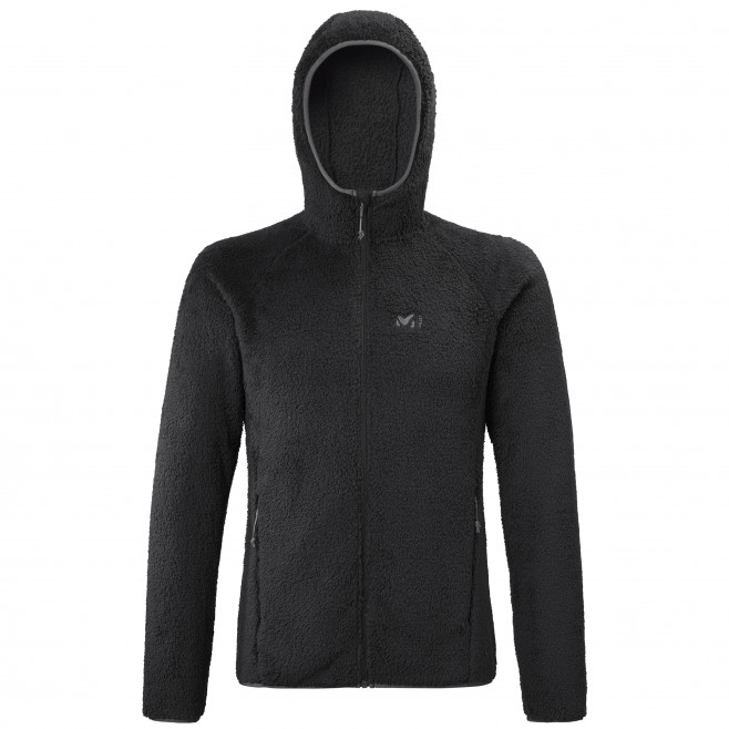 Men's very warm jacket - black TEKAPO HOODIE M Millet