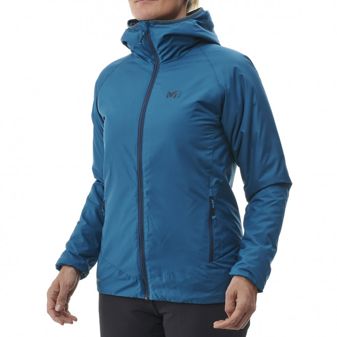 Women's Synthetic downjacket - blue ORDESA HOODIE W Millet 2