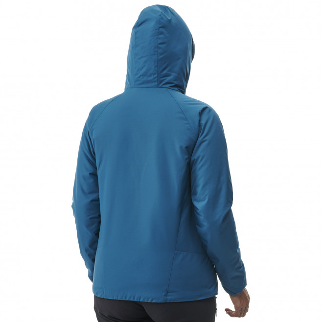 Women's Synthetic downjacket - blue ORDESA HOODIE W Millet 3