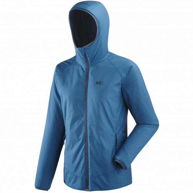 Women's Synthetic downjacket - blue ORDESA HOODIE W Millet