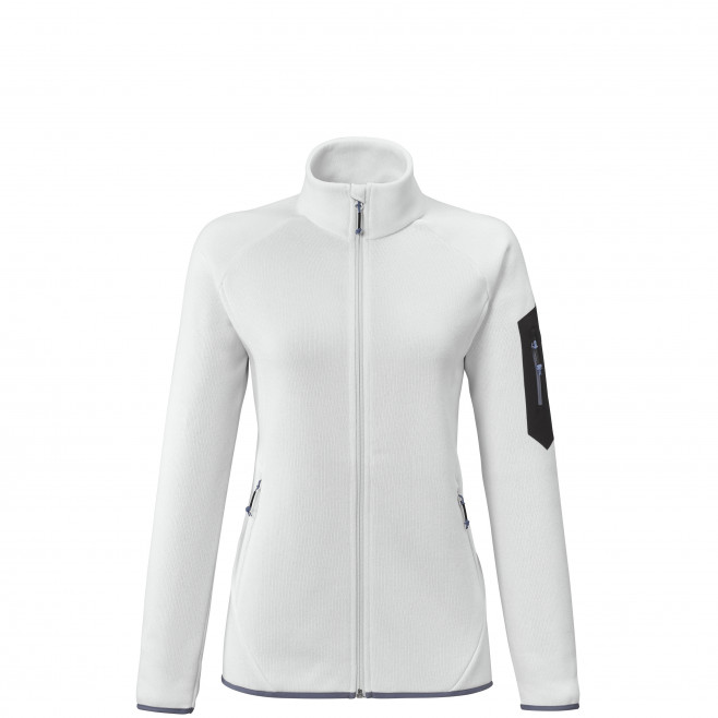 Women's very warm fleecejacket - white TRIBENI JKT W Millet