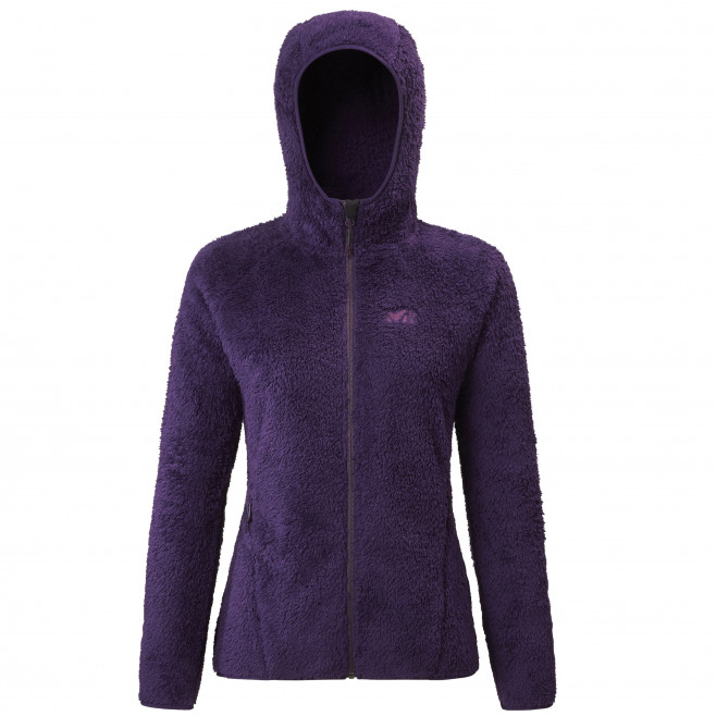 Women's very warm fleecejacket - purple TEKAPO HOODIE W Millet