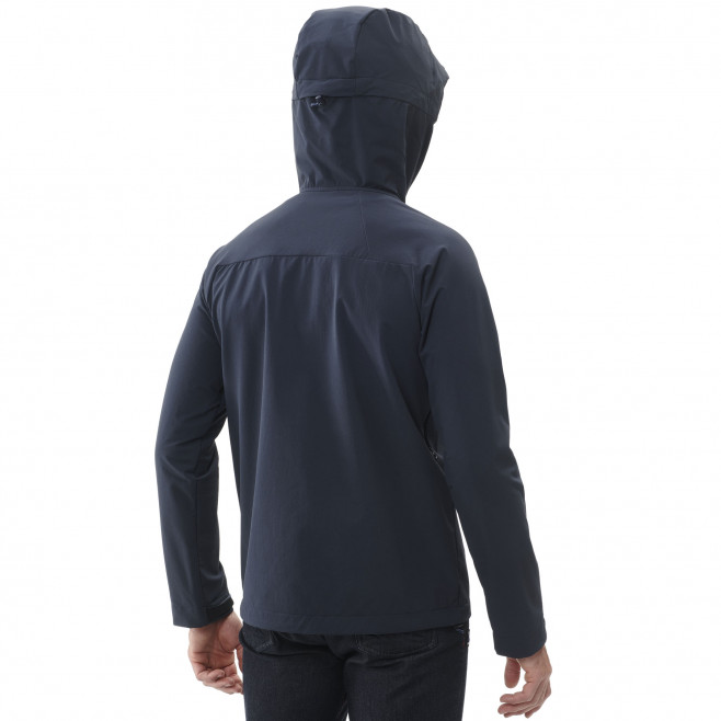 Men's lightweight jacket - navy-blue TRILOGY ULTIMATE CORDURA HOODIE M Millet 3