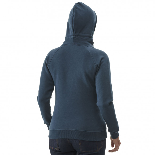 Women's urban look sweatshirt - navy-blue COZY FLEECE FULL ZIP HOODIE W Millet 3