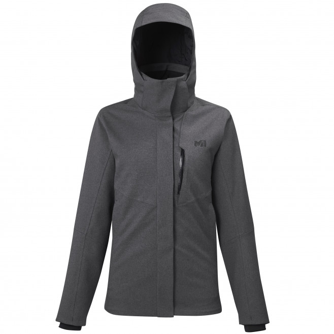 Women's 3 in 1 jacket - grey POBEDA II 3 IN 1 JKT W Millet
