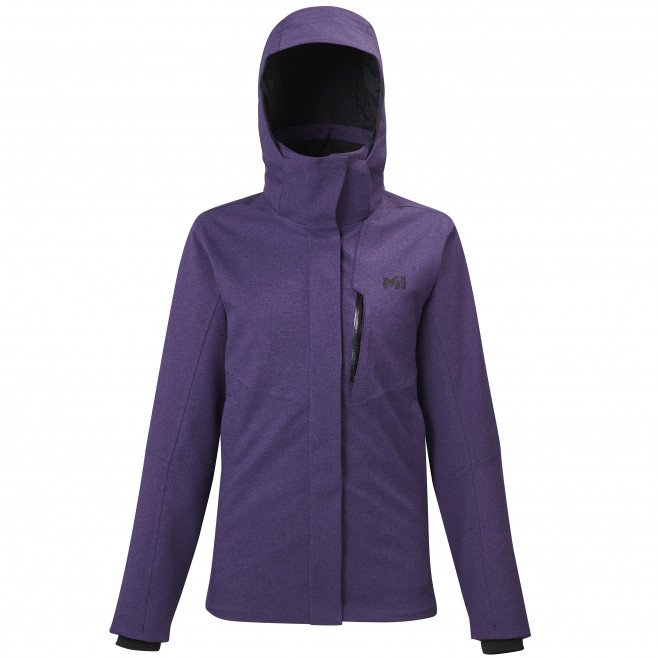 Women's 3 in 1 jacket - purple POBEDA II 3 IN 1 JKT W Millet